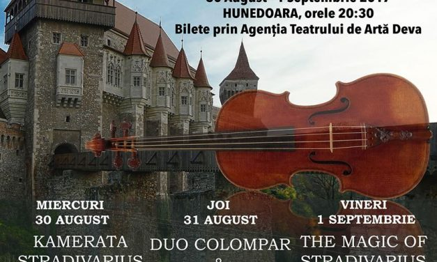 Stradivarius Music Nights by the Castle (Hunedoara, 30 august-1 septembrie)