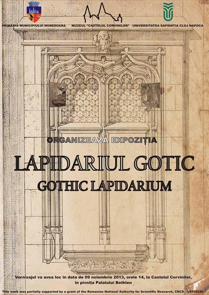 """Expoziţia """"Lapidariul Gotic"""", va fi vernisată la Castelul Corvinilor"""