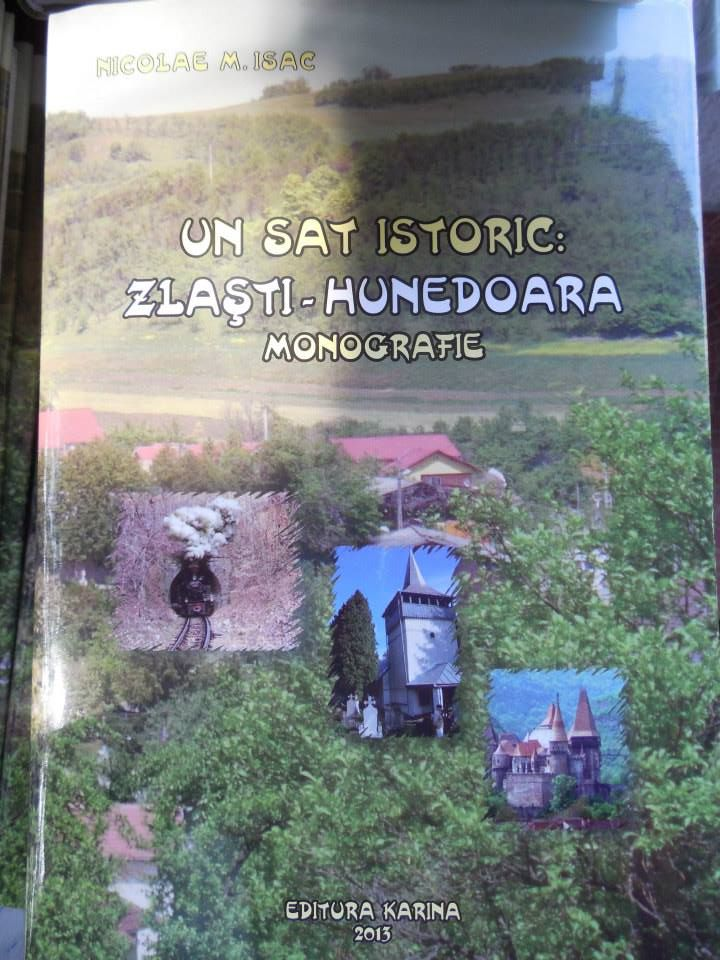 A fost lansată Monografia Zlaștiului