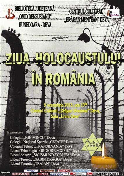 Ziua Holocaustului în România va fi sărbătorită și la Deva