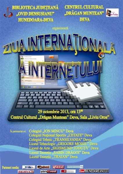 Ziua internațională a internetului, sărbătorită azi la Deva