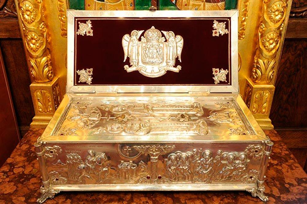 Moaștele Sfinților Împărați Constantin și Elena de la Catedrala Patriarhală vor aduse în Episcopia Devei și Hunedoarei