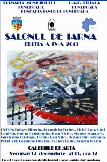 """Expoziția """"Salonul de Iarnă"""" va fi vernisată la Galeria de Arte Hunedoara în data de 17 decembrie"""