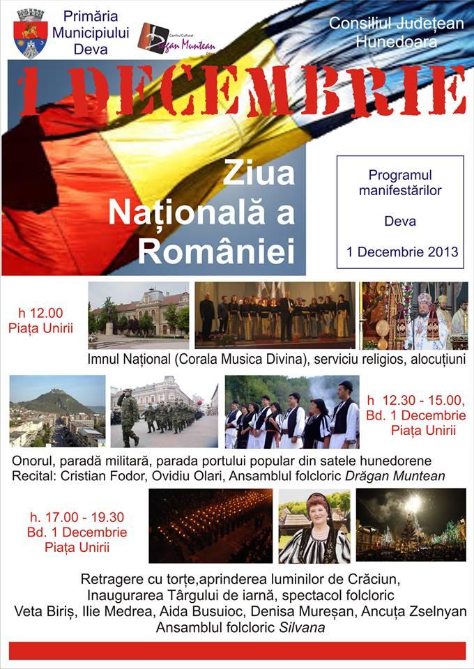 Veta Biriș cântă la Deva de Ziua Națională. Vezi programul manifestărilor