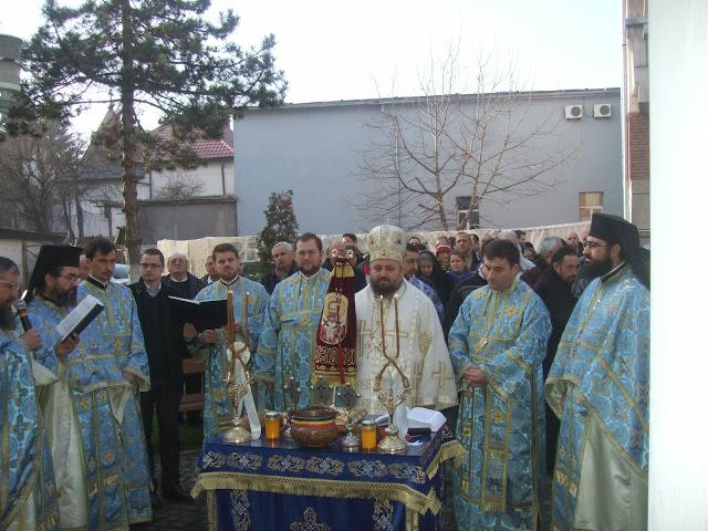 Praznicul Botezului Domnului la Catedrala Episcopală din Deva