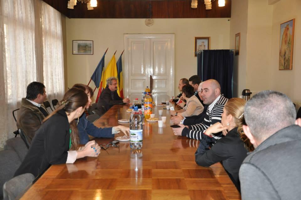 Delegaţie maghiară la Hunedoara