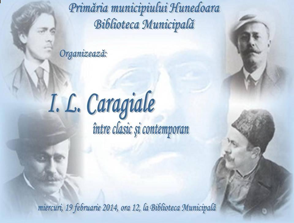 Simpozion Caragiale, la biblioteca din Hunedoara
