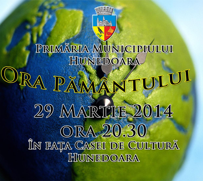 Municipiul Hunedoara sărbătorește Ora Pământului