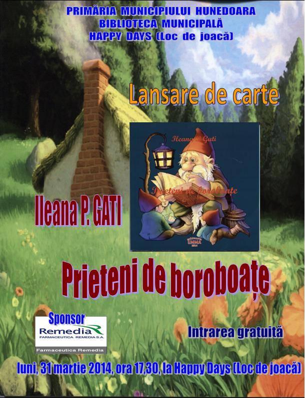 Scriitoarea Ileana P. Gati își lansează o carte pentru copii
