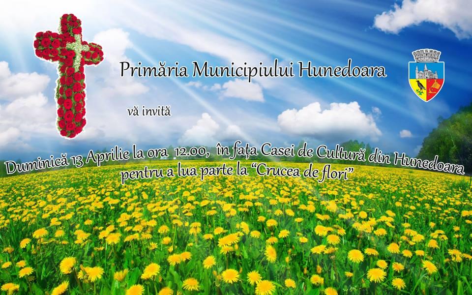 Crucea de Flori va fi construită și în acest an la Hunedoara