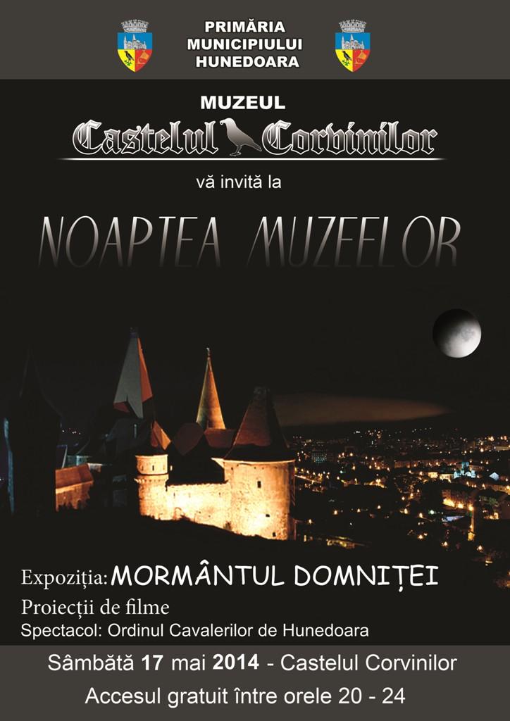 Noaptea Muzeelor la Castelul Corvinilor din Hunedoara
