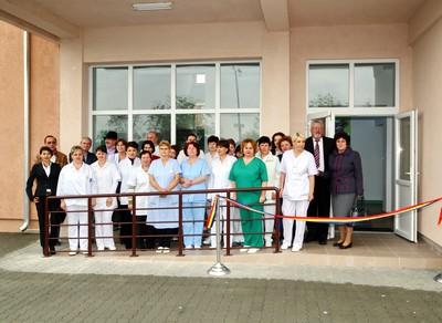 Ambulatoriul Spitalului Municipal din Orăştie a fost inaugurat