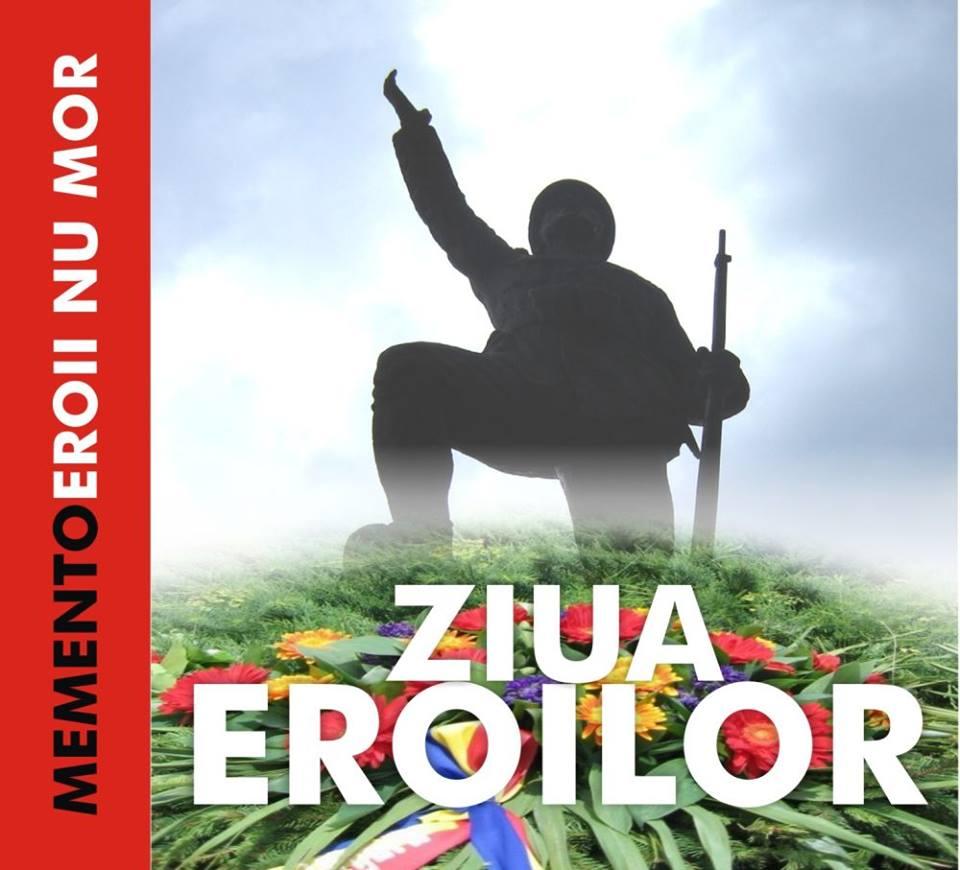 Ziua Eroilor, comemorată în Hunedoara (joi, 29 mai)