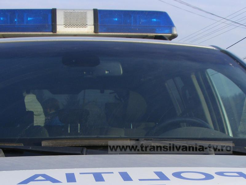 Accident produs pe un drum în lucru din județul Hunedoara, din cauza ignorării semaforului