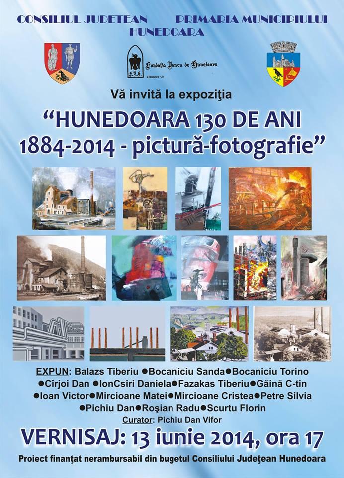 Expoziție de pictură și fotografie: Hunedoara 130 de ani
