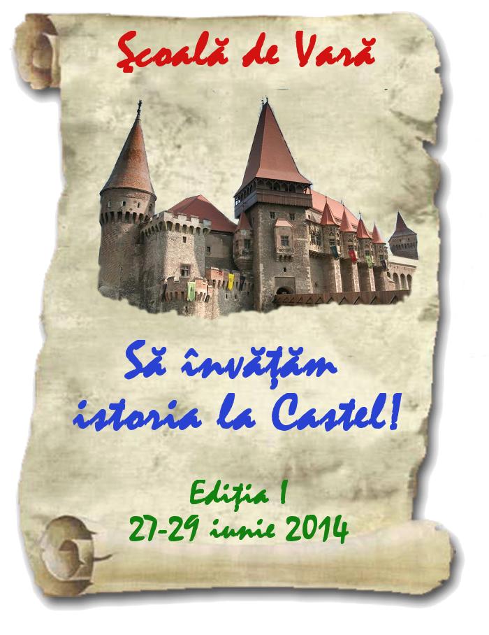 Școală de Vară la Castelul Corvinilor din Hunedoara