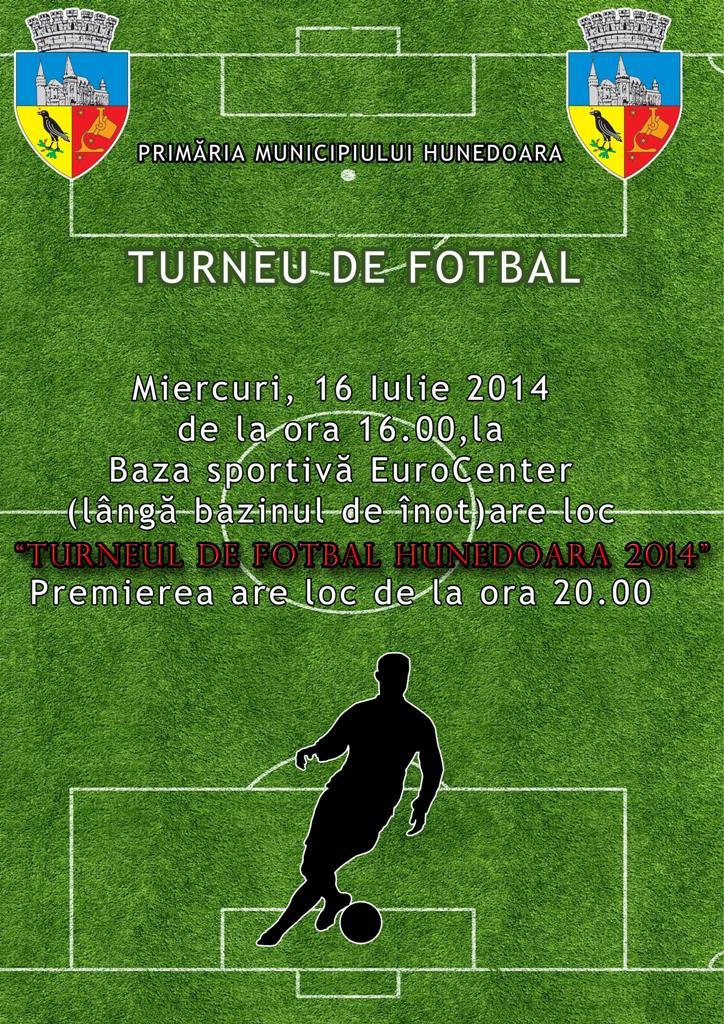 Ziua Sporturilor Hunedorene (miercuri, 16 iulie)