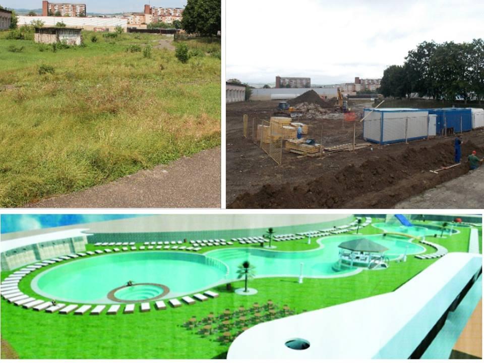 Au început lucrările la noul ștrand al municipiului Hunedoara