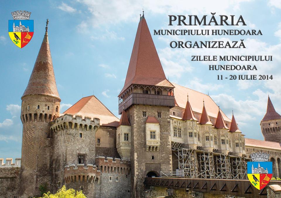 Zilele Hunedoarei se desfășoara în perioada 11-20 iulie. Vezi programul evenimentului