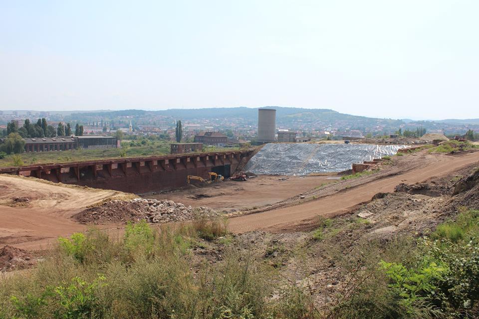 Lucrările de reabilitare a Sitului Industrial Hunedoara continuă