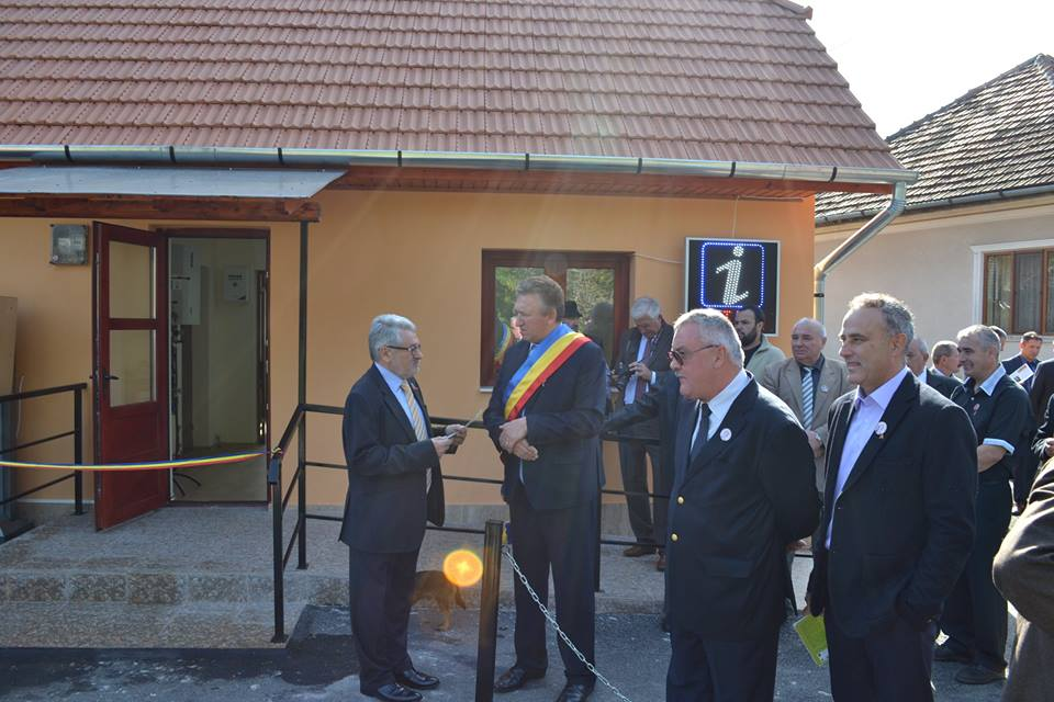 A fost inaugurat Punctul de Informare Turistică al comunei Ribiţa