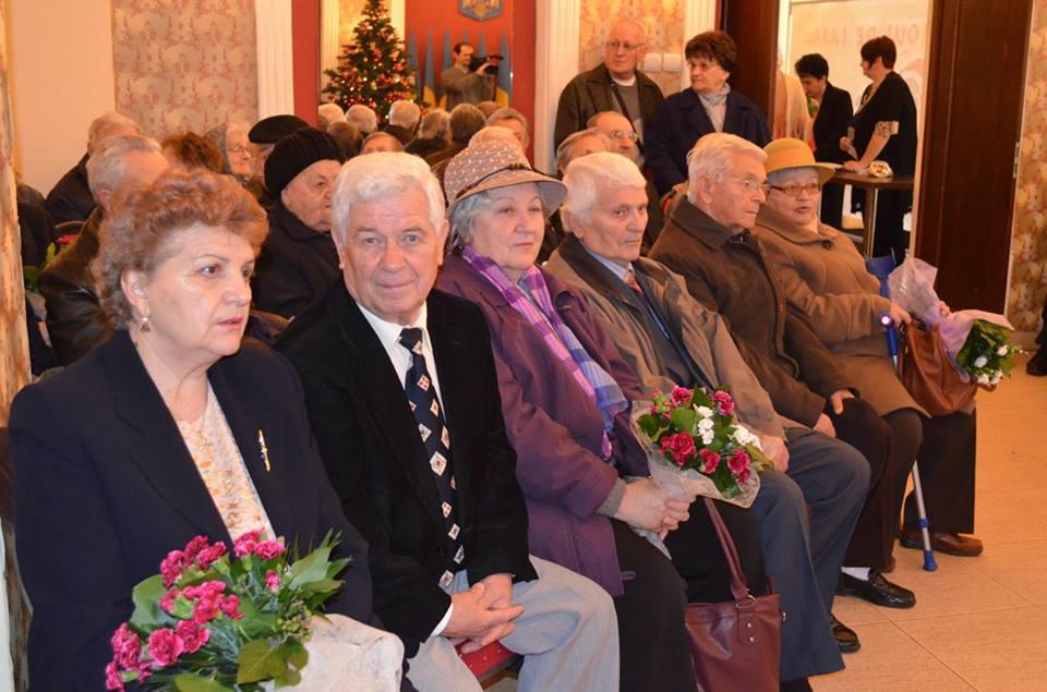 89 de cupluri din Deva au sărbătorit 50 de ani de căsnicie