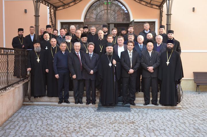 Sedinţa Consiliului şi a Adunării Eparhiale în Episcopia Devei şi Hunedoarei