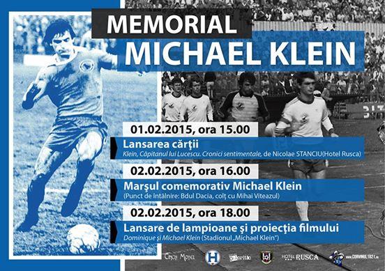 Vezi programul manifestărilor organizate cu prilejul comemorării a 22 de ani de la dispariția lui Michael Klein