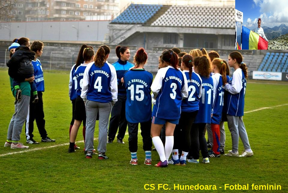 CS FC Hunedoara în Campionatul Ligii 1 la fotbal feminin