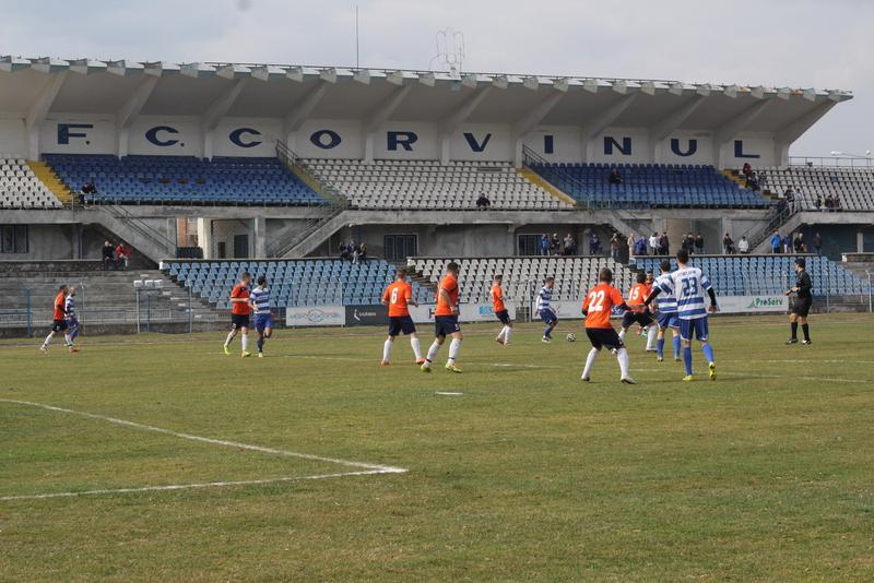 Ajutor de un milon de lei, din partea autorităților, pentru clubul FC Hunedoara