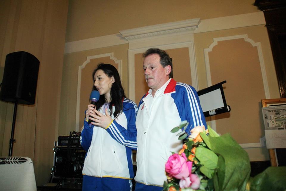 Atleta Florentina Marincu, premiată de Consiliul Local Deva