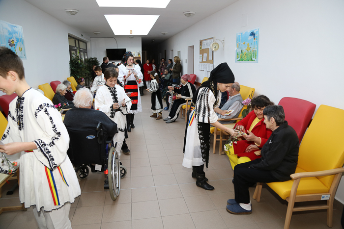 Miniproiect cu caracter misionar-filantropic la Parohia Aurel Vlaicu