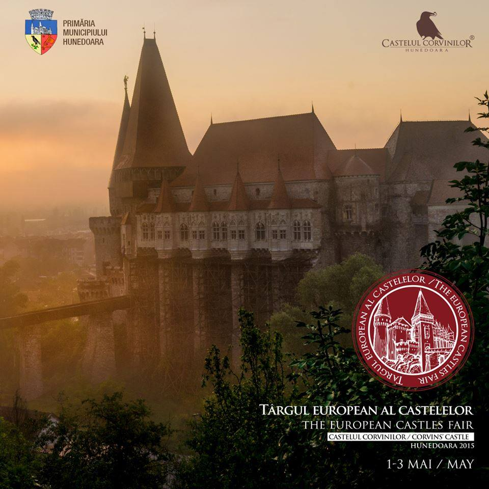 Târgul European al Castelelor, ediţia I, se va desfășura în Hunedoara