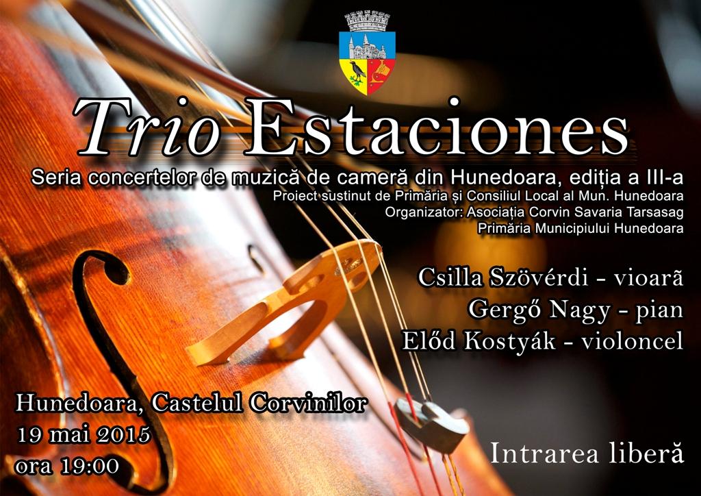 Concert de muzică de cameră la Castelul Corvinilor