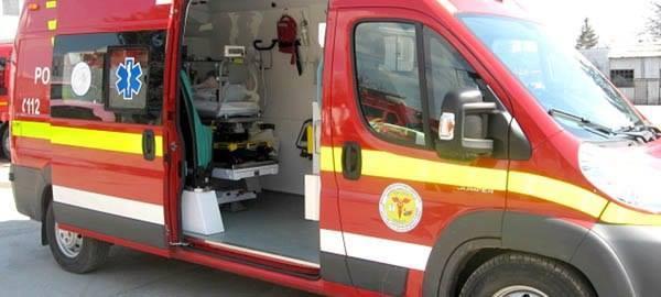 Hunedoara: Ambulanţa de top SMURD C1 intră în intervenţie