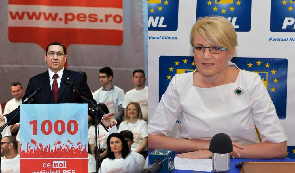 Andreea Paul spune că premierul Ponta a fugit în vacanță cu visul de guvernare al PSD!