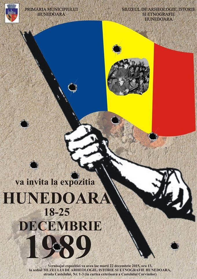"""Expoziție: """"Hunedoara 18-25 decembrie 1989"""""""
