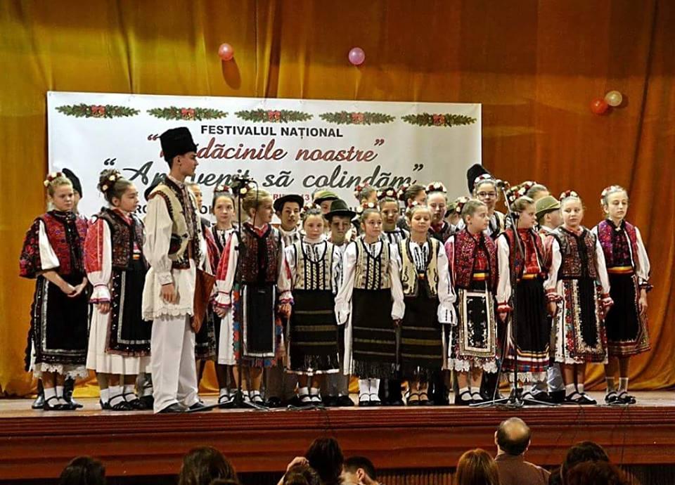 Festival de colinde organizat în Hunedoara