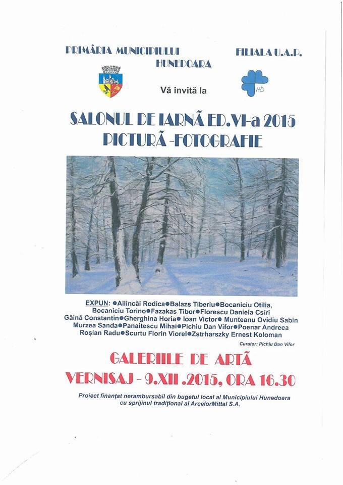 Hunedoara: Salonul de Iarnă a ajuns la ediţia a VI-a