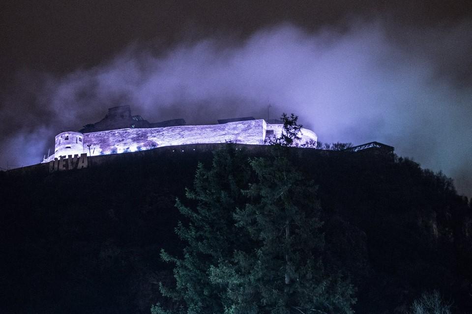 Număr record de vizitatori la Cetatea Devei în 2015