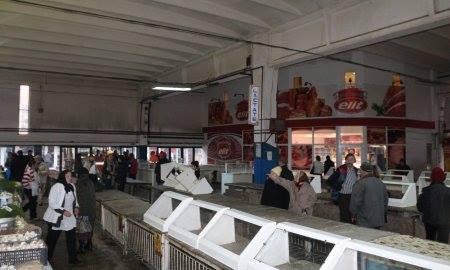 Hunedoara: Lucrări de modernizare la Piața Obor – Zona Lactate