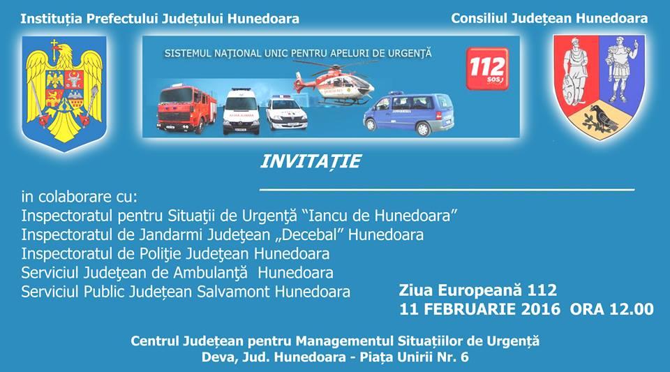 Deva: Ziua Europeană 112