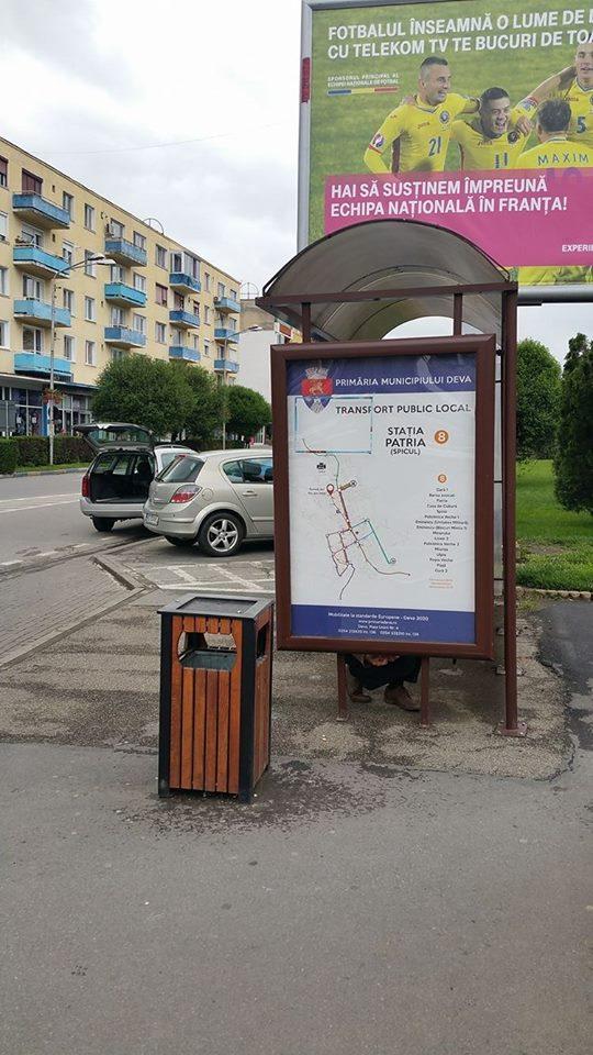Deva: Panouri de afişaj pentru staţiile de transport în comun