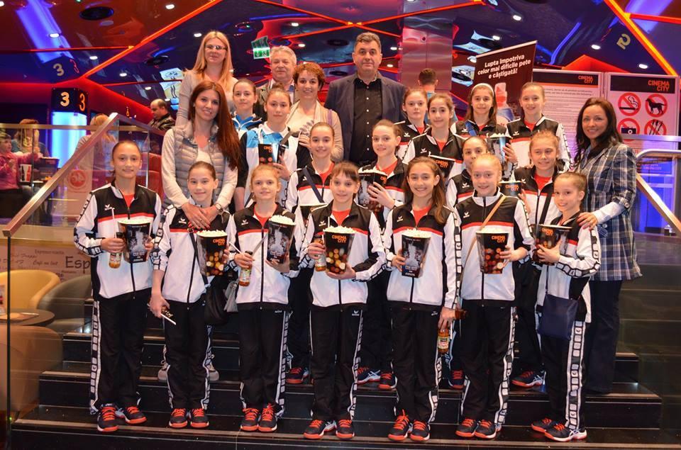 Şcoala de gimnastică de la Deva confirmă din nou