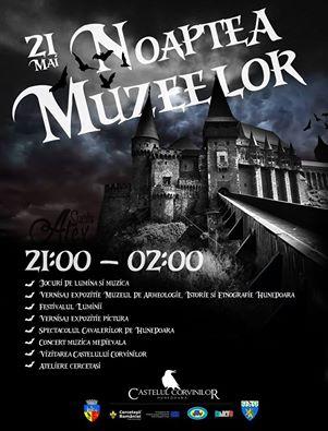 """Hunedoara: Vezi programul evenimentului """"Noaptea Muzeelor 2016"""""""