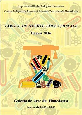 Hunedoara: Târgul de oferte educaționale – ediția 2016