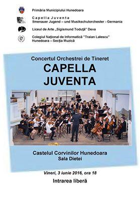Hunedoara: Concert Capella Juventa