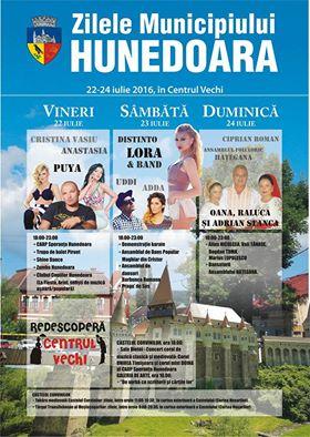Zilele Municipiului Hunedoara (22-24 iulie)