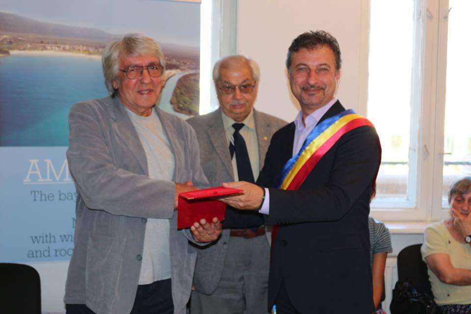 Nicolae Stanciu-Gorun și Victor Niță, cetățeni de onoare ai municipiului Hunedoara