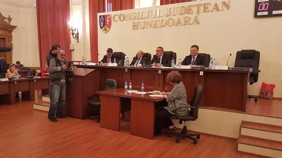 Mircea Flaviu Bobora este noul președinte al Consiliului Județean Hunedoara